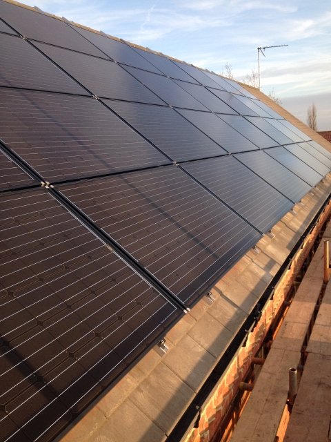 Solar Array on Cambrian Slates