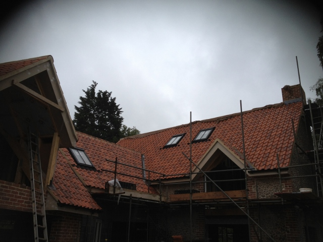 New Build Roof Tiling