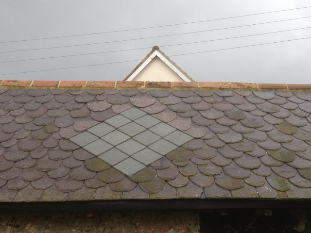 Random Slating with Pattern